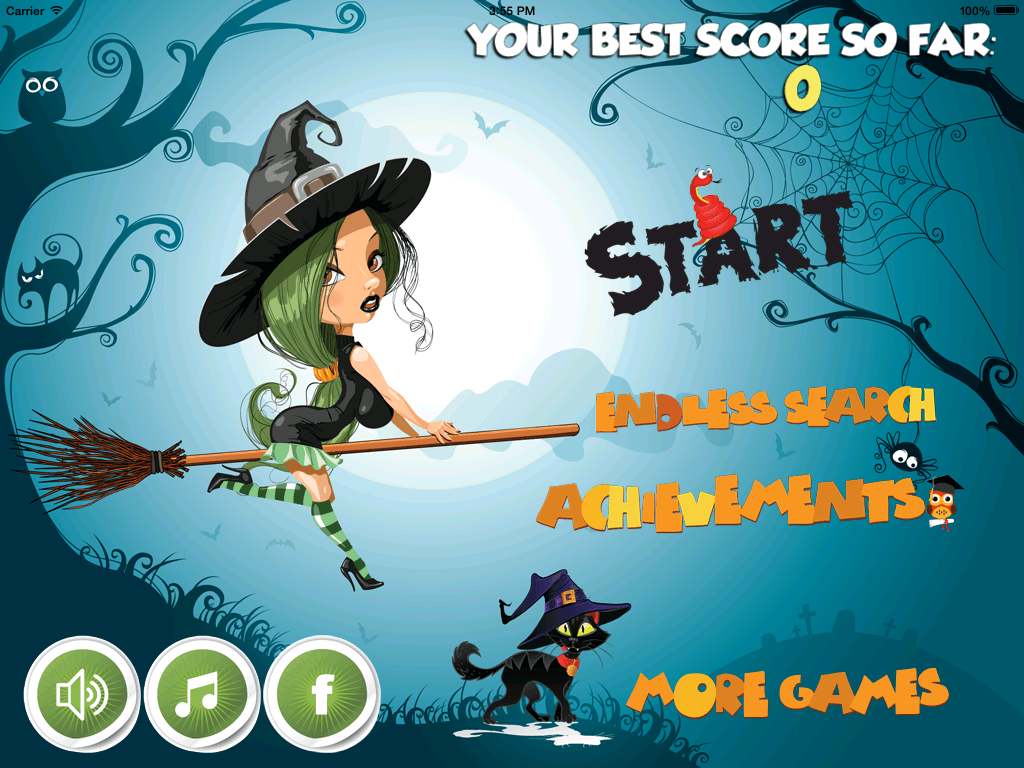 Game Character Design Apps : Witch halo ios game app azence