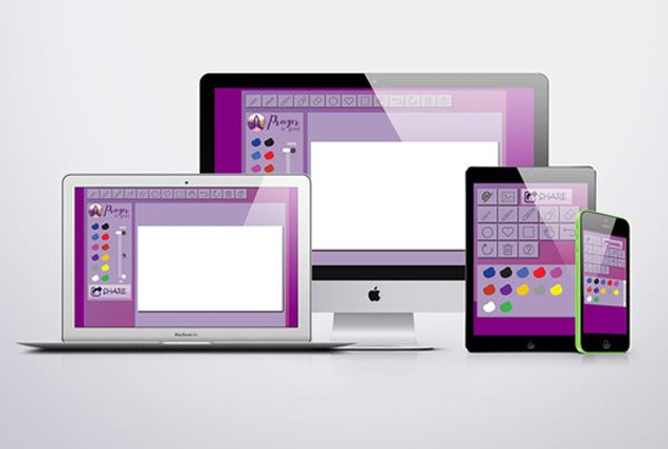 Custom Application Canvas Draw Program