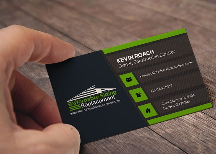 Graphic design for print business card for new logo design graphic design business card reheart