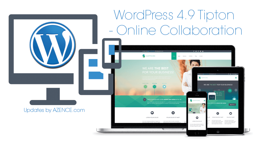 WordPress Update 4.9 Support by AZENCE